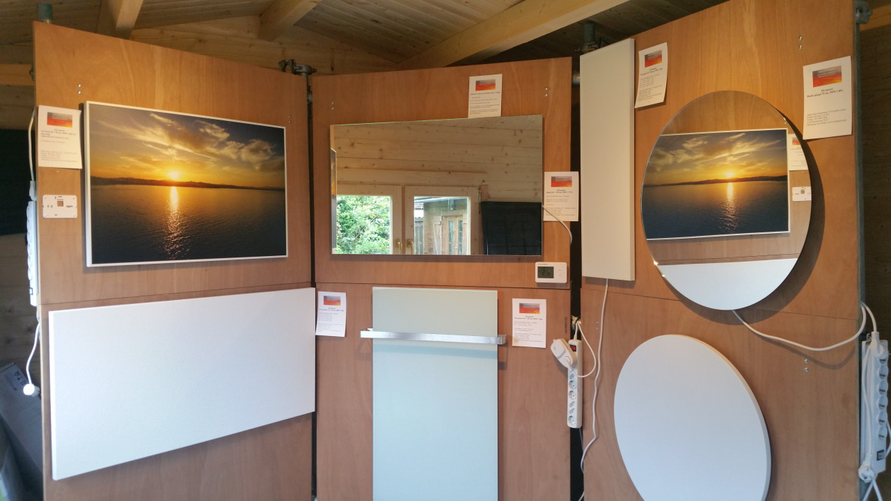 Infrarood Verwarming Spiegel : Infraroodwarmtenu home